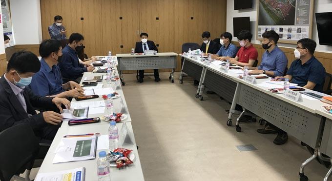 고양시 수질오염총량관리 평가 보고회 개최