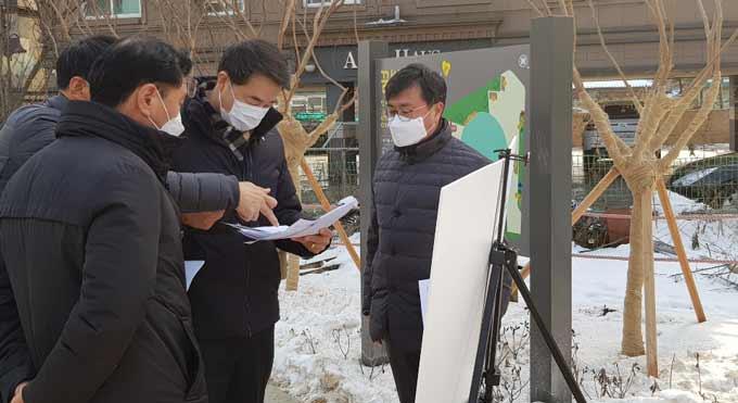 용인 이정석 처인구청장, 주요 현안 현장 점검