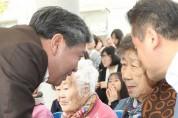 도의회 송한준 의장 나눔의 집 효잔치 참석