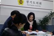 권정선 도의원 정명약수터 노후시설 정비