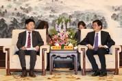 도의회 中장쑤성 인민대표대회 방문