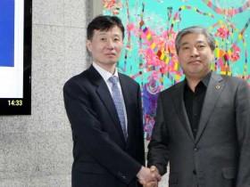송한준 의장 조상철 신임 수원고검장 접견