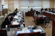 도의회 경과기위 일본 대응 결의안 가결