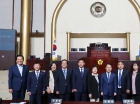 경기도의회 상임위원장 선출 확정