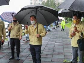 조광한 남양주시장, 상습침수지역 긴급 점검