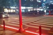 고양시, 광장 횡단보도 LED 바닥신호등 설치